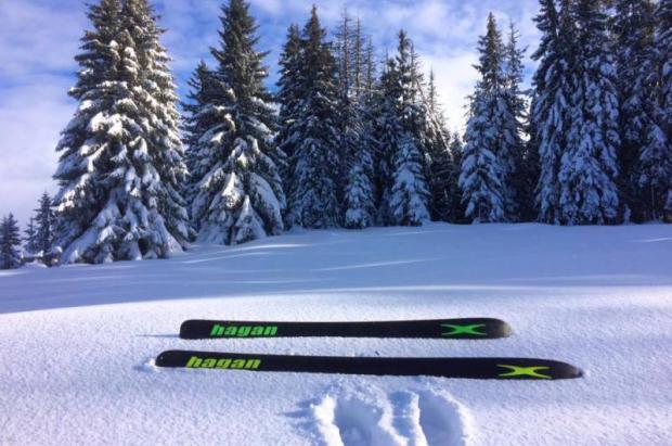 Nuevos esquís Hagan para esta temporada