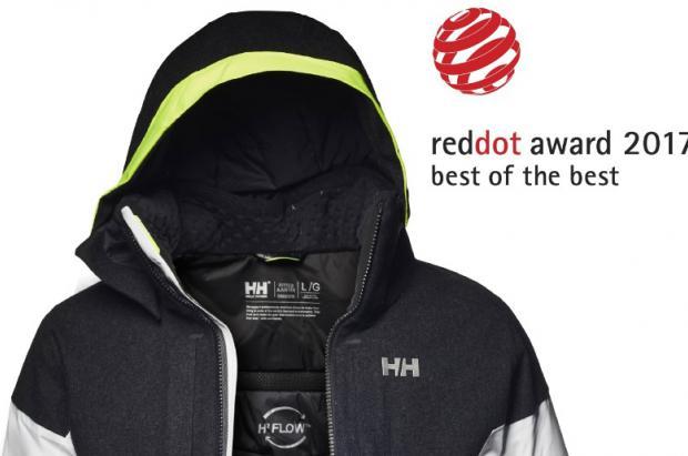 Icon jacket de Helly Hansen award Product Design Red Dot