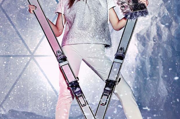 Jimmy Choo: Moda para las esquiadoras más fashion con buen bolsillo
