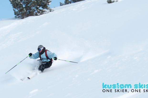 Nace Kustom skis pisando fuerte en el sector del esquí personalizado