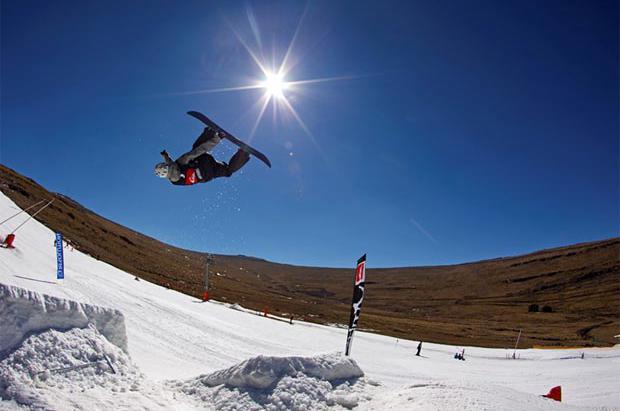 Esquí en Lesotho: más allá de los safaris está la estación de Afri-Ski