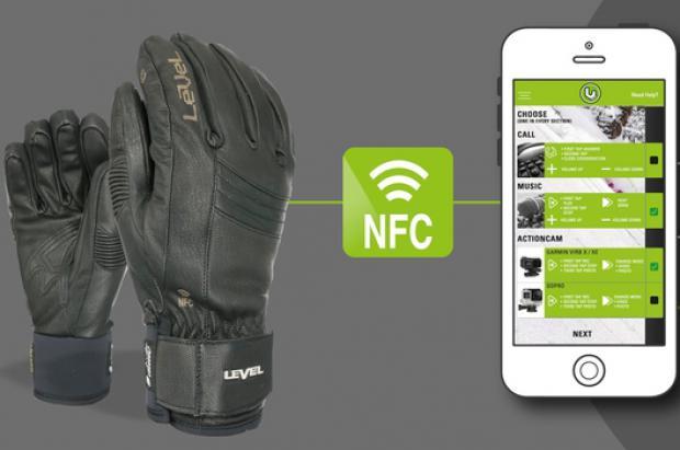Guantes Level con tecnología NFC: El poder en tus manos!