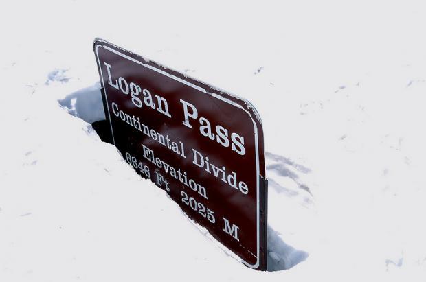 Logan Pass Montana: Hombres y máquinas luchando contra los aludes, la nieve y los osos