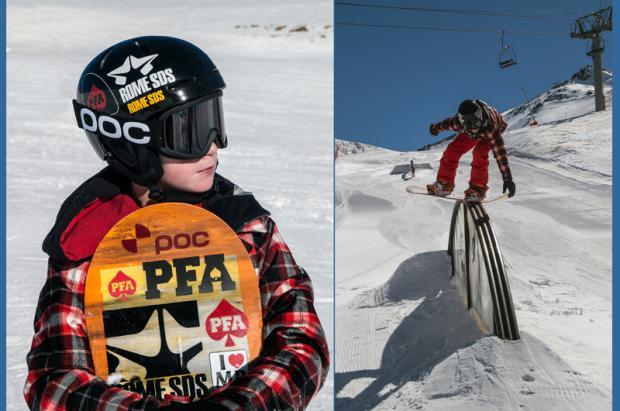 "Lucas Muñoz de Morales Pinazo, un ""Micro Machine"" del Snowboard"