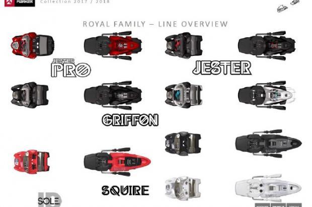 Nueva gama de fijaciones Royal Family 2018 de Marker
