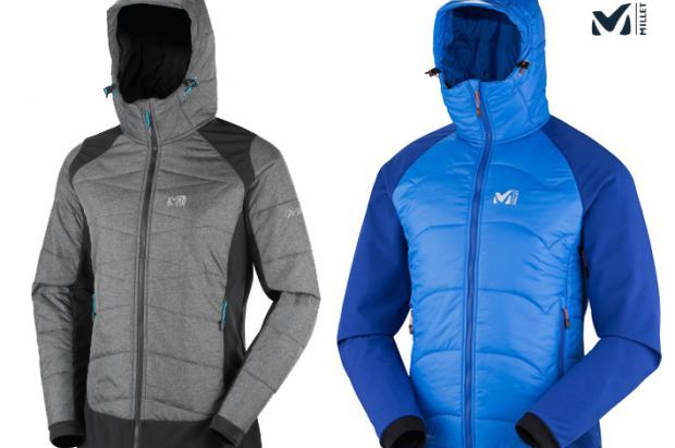 Millet presenta en la colección Otoño/invierno la capa térmica Millet Belay Hybrid JKT