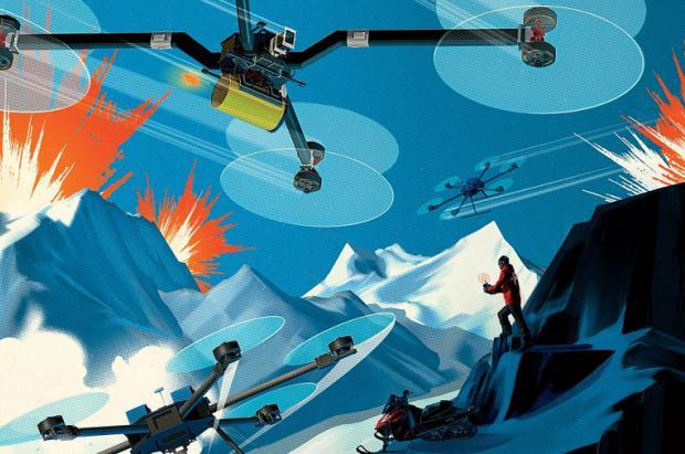 """Las estaciones se preparan ante el inminente """"Ataque de los Drones"""""""