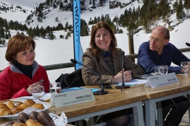 Nuria Tarré de Grandvalira apuesta por competir sin complejos con las estaciones de los Alpes