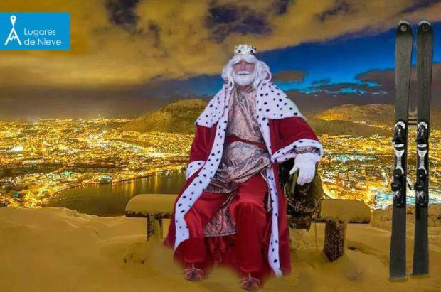 Reyes Magos Lugares de Nieve