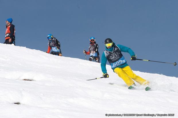 Llega a Baqueira Beret la súper-divertida carrera de nieve Salomon Quest Challenge