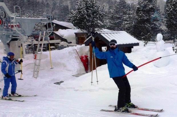 Lugares de nieve con Santi Millán, embajador de Grandvalira