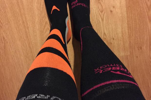 Calcetines de esquí high tech: Altitud y Astún de Lurbel