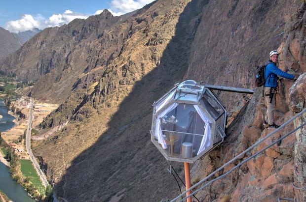 Sky Lodge, un exclusivo hotel en los Andes de Perú