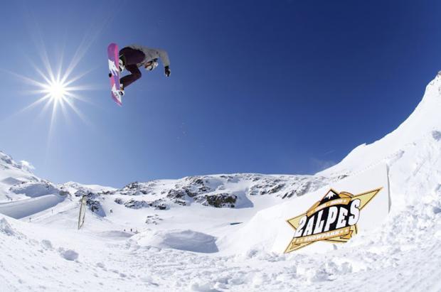 Snowboard y esquí freestyle en verano