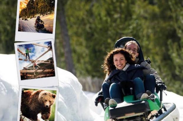 Naturlandia, un parque de nieve y aventura