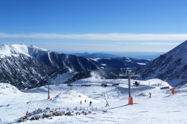 "Vallter 2000: Gran Esquí ""sube/baja"""