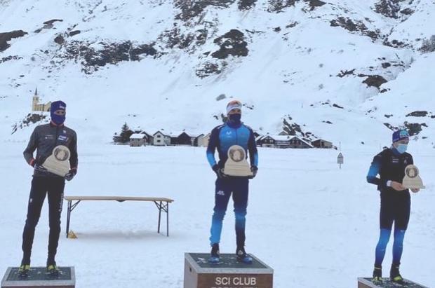 Imanol Rojo gana la OPA Alpen Cup de 15 km Clásico en Val Formazza