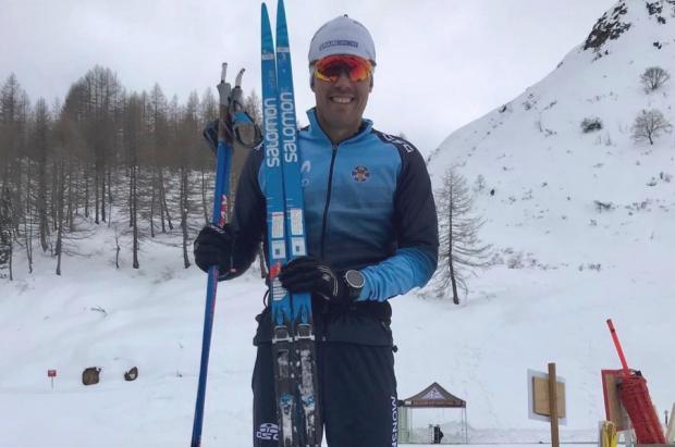 Imanol Rojo consigue un decimoctavo puesto en la última prueba del Tour de Ski en Val di Fiemme