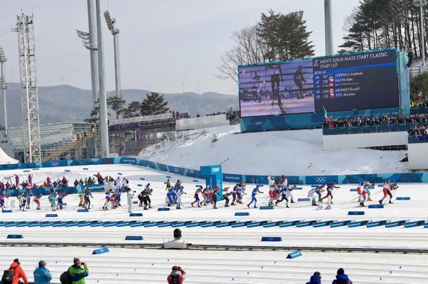 Imanol Rojo termina en el puesto 35 en los 50 kilómetros de esquí fondo en estilo clásico