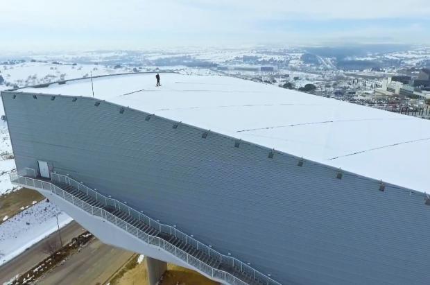 On the Roof ¡Madrid SnowZone abre una nueva pista sobre la azotea!