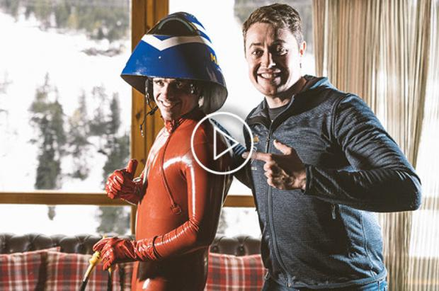 Jan Farrell reta a los esquiadores alpinos con un premio de 5.000 euros