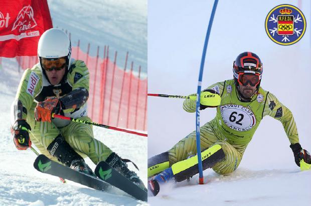 Quim Salarich y Juan del Campo representarán a España en el Mundial FIS Alpino de St. Moritz