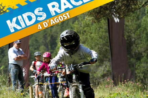 Llega la Kids Race de La Molina, la carrera de BTT de las jóvenes promesas