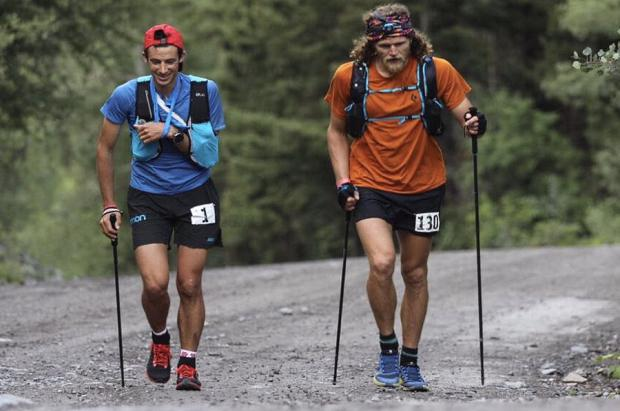 Kilian Jornet gana la Hard Rock corriendo 140 km con el hombro dislocado