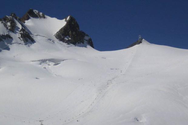 Abre el glaciar Girose en La Grave para los esquiadores de club desde el lunes