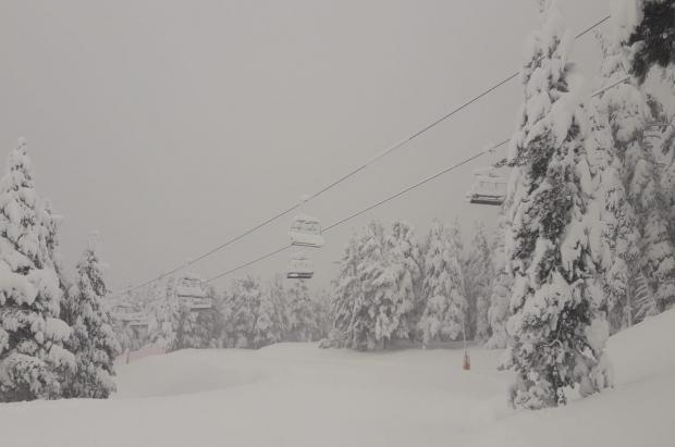 Gloria deja 160 cm de nieve en La Molina. Hoy la estación reabre parte de sus instalaciones