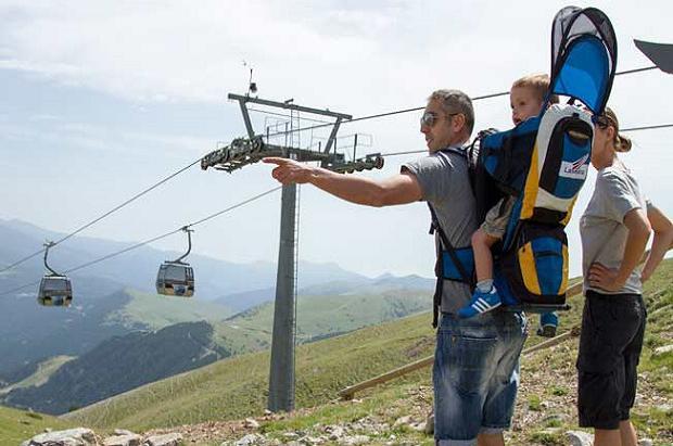 La Molina, Vall de Nuria, Vallter 2000, Espot y Port Ainé distinguidas con el sello de Turismo Familiar