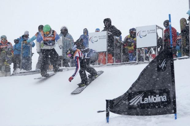 El próximo lunes se inicia la Copa del Mundo IPC 2017 Para-Snowboard en La Molina