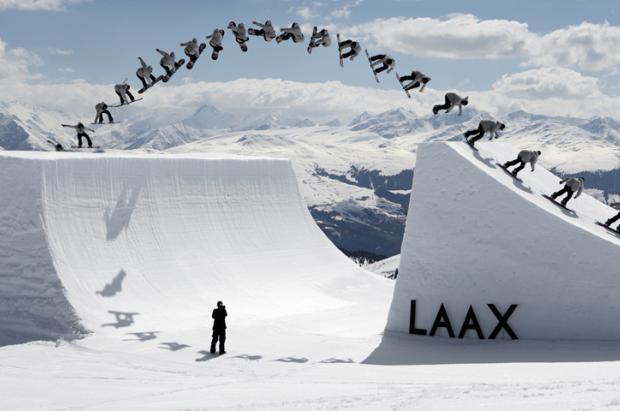 Opening del superpark de Laax. La meca del freestyle