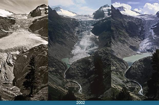 Los glaciares de los Alpes siguen acelerando hacia su extinción