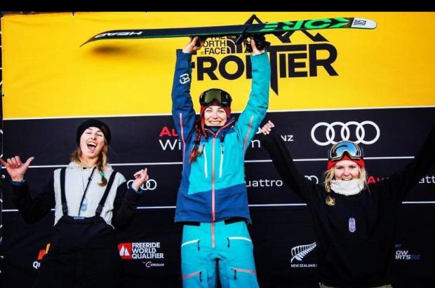Laia Castellarnau, flamante vencedora del The North Face Frontier FWQ 2* en Nueva Zelanda
