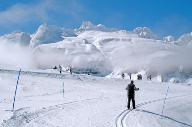 Candanchú ofrecerá durante la Semana Santa un circuito de esquí nórdico de 2 km en la Tuca Blanca
