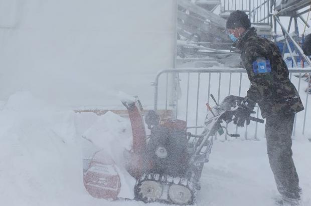 Las nevadas obligan a cancelar los descensos en Lenzerheide, Feuz y Goggia campeones