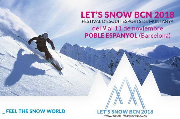 """Let's Snow Barcelona vuelve el próximo noviembre con el lema """"Feel The Snow Word"""""""