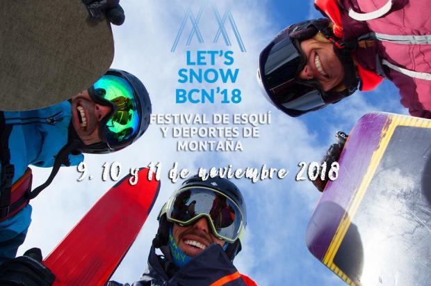 Let's Snow BCN'18 será la primera estación del país en abrir sus puertas esta temporada de esquí