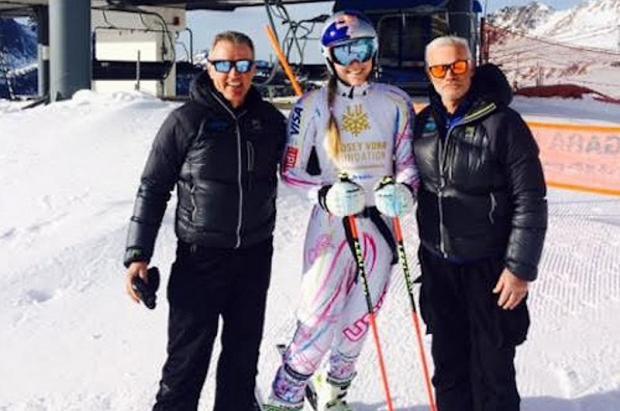 Lindsey Vonn se entrenará unos días con el equipo masculino italiano