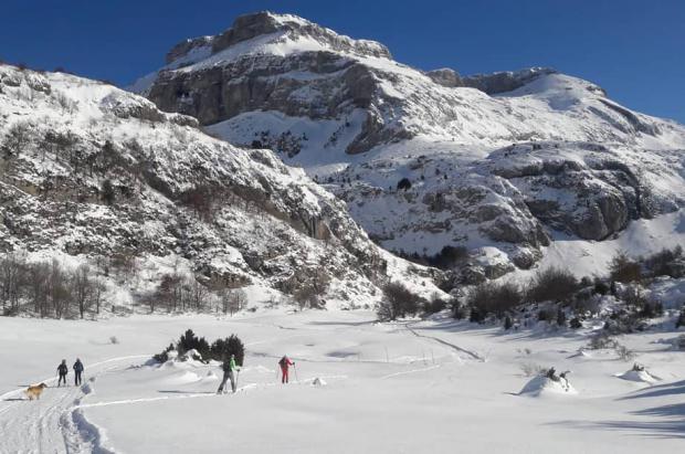 Pistoletazo de salida a la temporada de esquí de fondo en Aragón