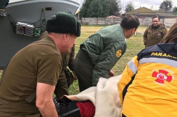 Rescatan a 11 personas perdidas en el volcán Lonquimay (Chile), una de ellas ha fallecido