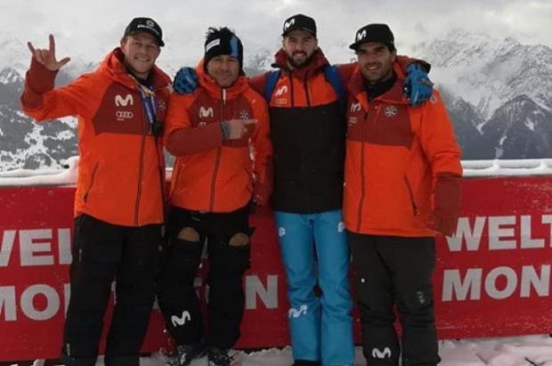 Lucas Eguibar consigue un brillante 4º puesto en la Copa del Mundo FIS de SBX en Montafon