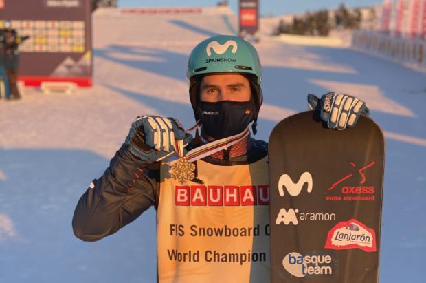 Las declaraciones Lucas Eguibar y del equipo español tras la medalla de oro