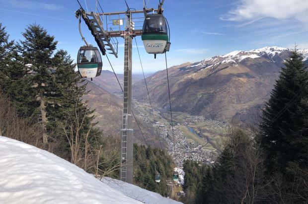 Luchon-Superbagnères: máximo exponente de estación de acceso fácil, cómodo y ecológico