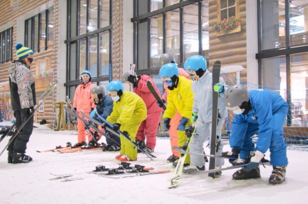 6.000 escolares esquiarán esta temporada en SnowZone por iniciativa de la Comunidad de Madrid