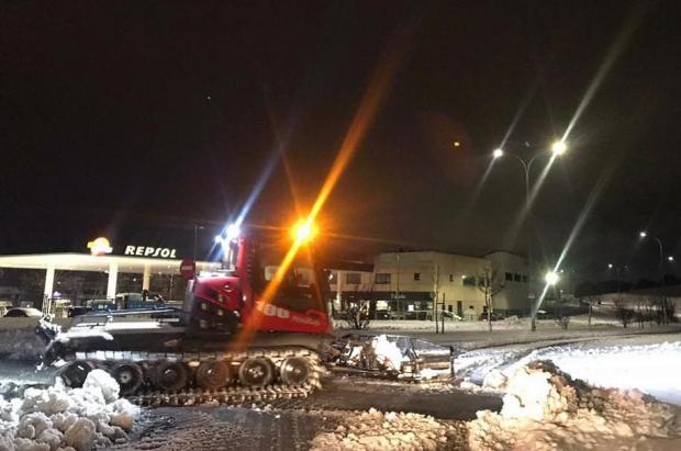 Madrid SnowZone colabora con el Ayuntamiento de Arroyomolinos en los trabajos de retirada de nieve