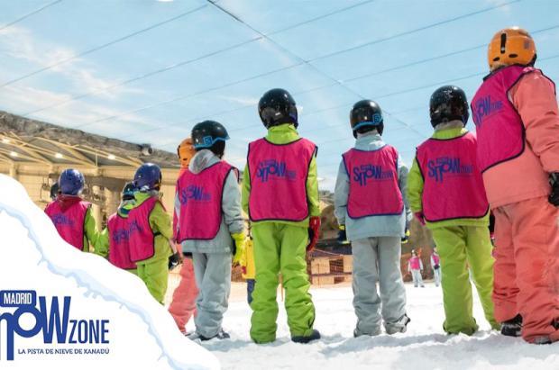 Se abre la inscripción de los refrescantes campamentos de verano de Madrid SnowZone