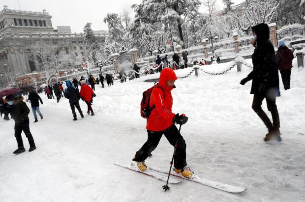 Madrid: la nueva estación de esquí de este fin de semana en imágenes