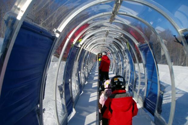 Nuevos cañones de nieve en Alto Campoo y una nueva cinta cubierta